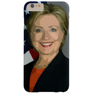 Hillary Clinton election 2016 iPhone 6 Plus, Tough Barely There iPhone 6 Plus Case