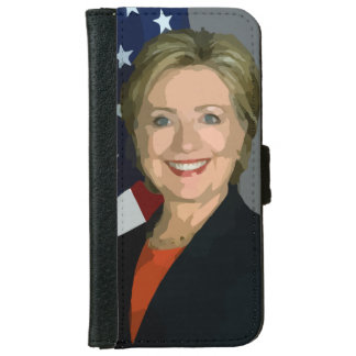 Hillary Clinton election 2016 iPhone 6 Wallet Case