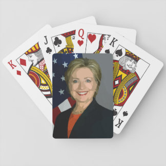 Hillary Clinton election 2016 Playing Standard Playing Cards