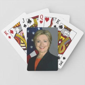 Hillary Clinton election 2016 Playing Standard Poker Deck