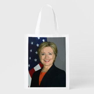 Hillary Clinton election 2016 Reusable Bag