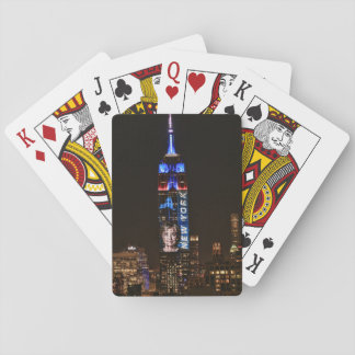 Hillary Clinton Election Night Empire State Bldg Playing Cards
