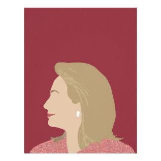 Hillary Clinton Feminist Letterhead