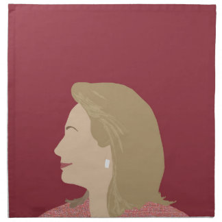 Hillary Clinton Feminist Napkin