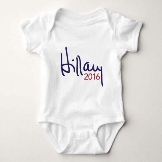 Hillary Clinton for President 2016 Apparel Baby Bodysuit