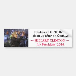 Hillary Clinton for President 2016 - bumpersticker Bumper Sticker