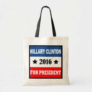 Hillary Clinton For President 2016 Tote Bag