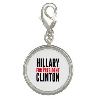 Hillary Clinton For President Charm