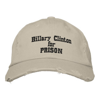 Hillary Clinton for Prison Distressed Hat