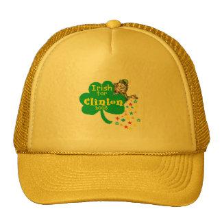 Hillary Clinton Irish St. Patrick's Day Trucker Hat