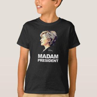 "Hillary Clinton ""Madam President"" Kids' Shirt"