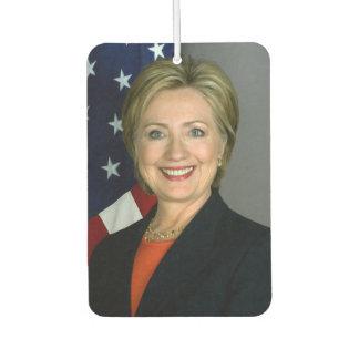 Hillary Clinton Official Portrait Car Air Freshener