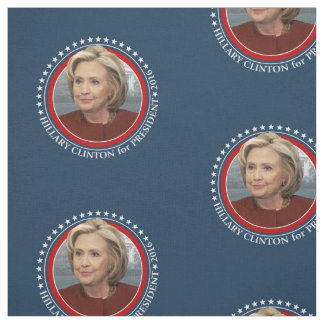 Hillary Clinton Photo - 2016 Campaign Gear Fabric
