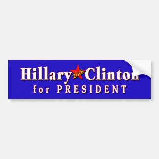 Hillary Clinton President in 2016 Bumper Sticker