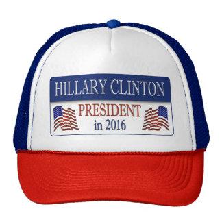 Hillary Clinton President in 2016 Trucker Hat