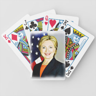 Hillary Clinton-President of USA_ Bicycle Playing Cards