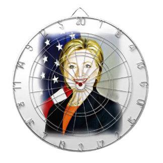 Hillary Clinton-President of USA_ Dartboard