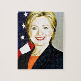 Hillary Clinton-President of USA_ Jigsaw Puzzle