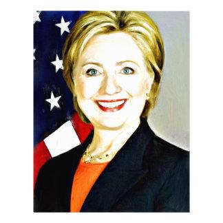 Hillary Clinton-President of USA_ Letterhead