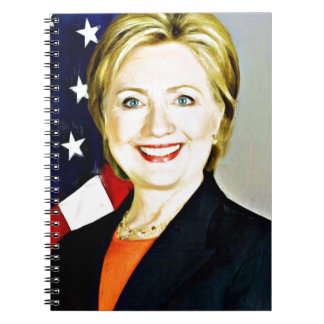 Hillary Clinton-President of USA_ Notebooks