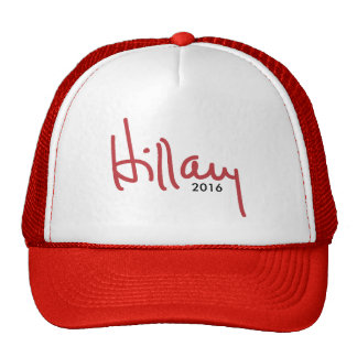 Hillary Clinton Signature - Campaign Hat 2016