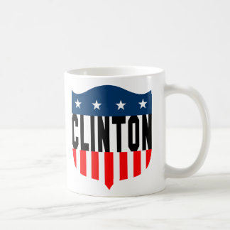 hillary clinton stars & stripes coffee mug
