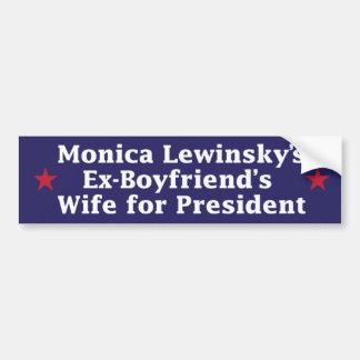 Hillary Clinton Sticker Bumper Sticker