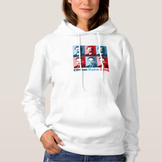 Hillary Clinton Tim Kaine 2016 Hoodie