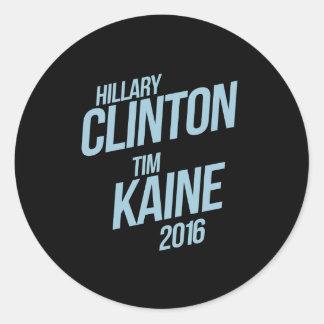 Hillary Clinton Tim Kaine 2016 - Signage - Round Sticker
