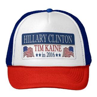 Hillary Clinton Tim Kaine in 2016 Trucker Hat