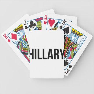 Hillary Clinton USA President Election 2016 Poker Deck