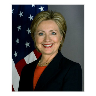 Hillary Clinton Value Poster Paper