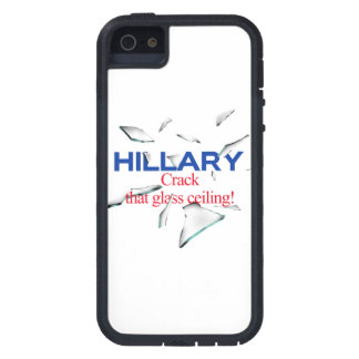 Hillary, Crack that glass ceiling iPhone 5 Cover