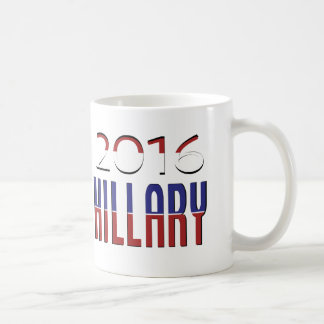 Hillary Election 2016 Classic White Coffee Mug