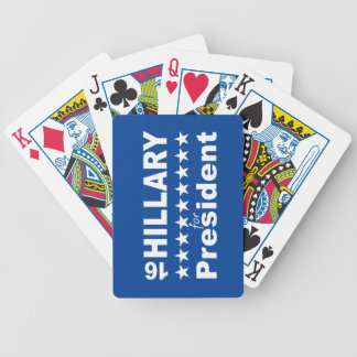 Hillary for President 2016 Bicycle Playing Cards