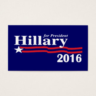 Hillary for President 2016 Business Cards