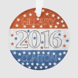 Hillary for President 2016 Ornament
