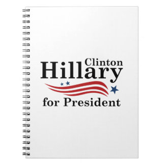 Hillary For President Note Book