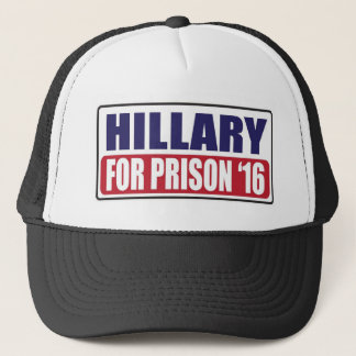 Hillary for Prison 2016 Trucker Hat