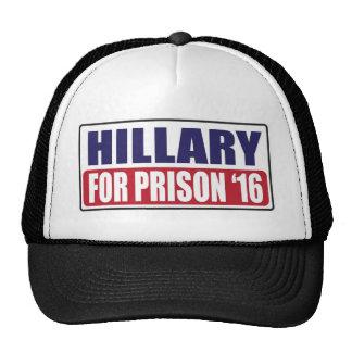 Hillary for Prison 2016 Trucker Hat