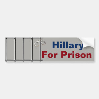 Hillary For Prison Bumper Stickers