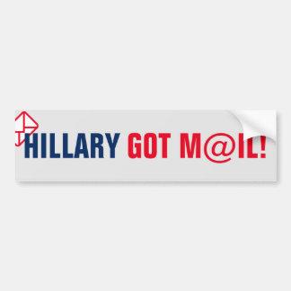 Hillary Got Mail! Bumper Sticker