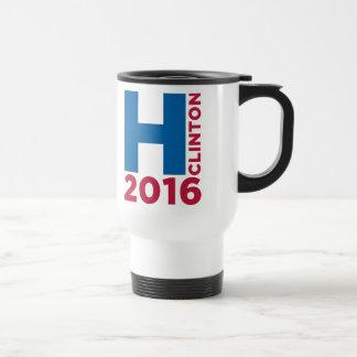 Hillary H Clinton 2016 Travel Mug