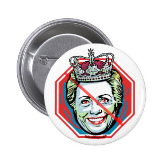 Hillary Ice Queen 2 Inch Round Button
