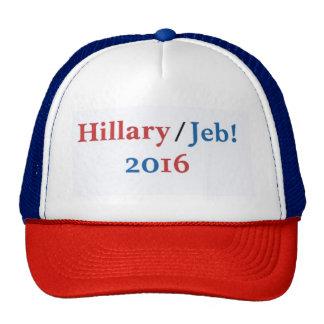 Hillary/Jeb 2016 Hat