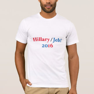 Hillary/Jeb 2016 shirt