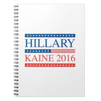 Hillary Kaine 2016 Notebook