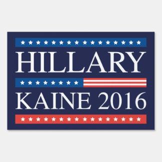 Hillary Kaine 2016 Sign