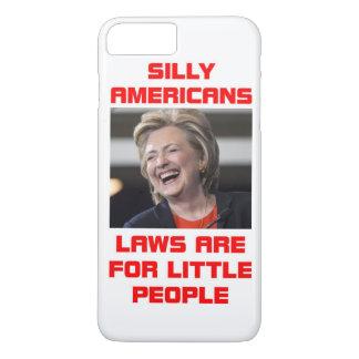 HILLARY LITTLE PEOPLE iPhone 7 PLUS CASE