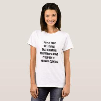 Hillary Motivational Fight T-Shirt